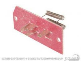 1965-1968 MUSTANG HEATER RESISTOR ASSEMBLY(3SPEED)
