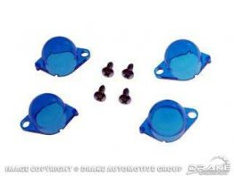 1964-1966 MUSTANG INSTRUMENT PANEL FILTERS, BLUE