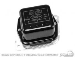 1965 MUSTANG (EARLY) VOLTAGE REGULATOR (FOMOCO)