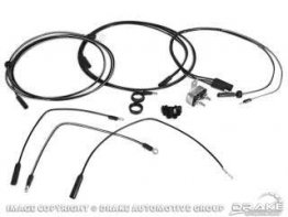 1966-1967 MUSTANG FOG LAMP WIRING KIT