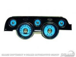 1967-1968 MUSTANG  LUMINESCENT INSTRUMENT PANELS