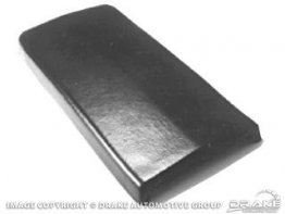 1969-1970 MUSTANG CONSOLE ARM REST PAD (BLACK)