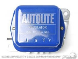 1970-1971 MUSTANG VOLTAGE REGULATOR (BLUE/SILVER)