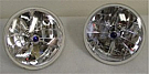 1965-1968 MUSTANG TRI-BAR HEADLAMPS HALOGEN
