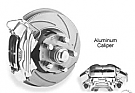 1970-1973 MUSTANG FRONT DISC W/ALUMINUM CALIPERS