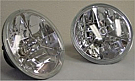 1965-68 MUSTANG  TRI-BAR HEADLAMPS HALOGEN