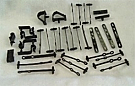 1967-1968 MUSTANG WIRE LOOM CLIP KIT