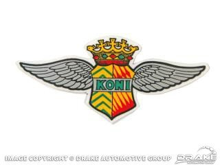 KONI SHOCK WING DECAL