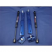 2006-2010 Mustang GT500 & 2011-2013 V6/GT Gas Strut Hood Lift Kit, Vista Blue